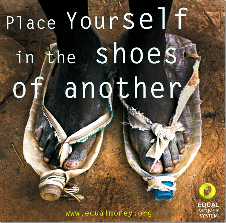 Place yourself in the shoes of another - EMS
