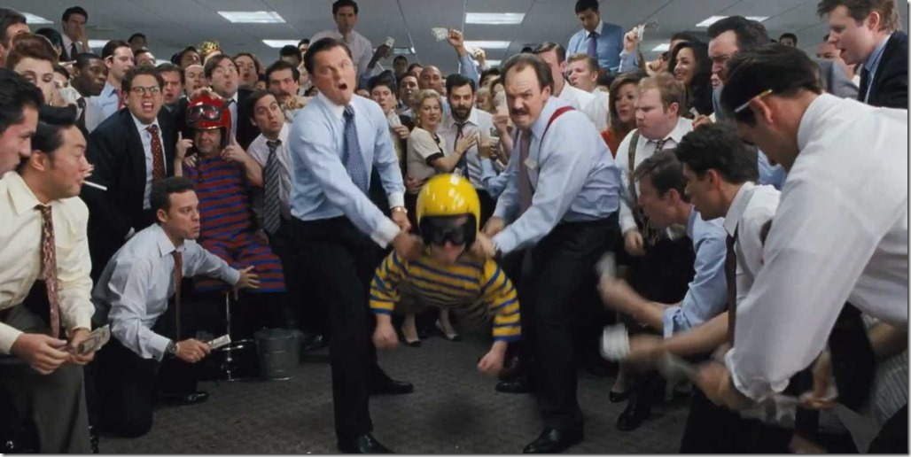Supposed to be funny moments - wolf of wall street