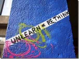 unlearn rethink