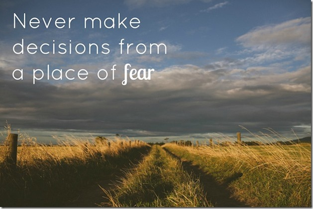 decisions-fear